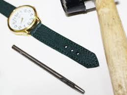 Изготовление <b>ремешка для часов</b> из натуральной <b>кожи</b>