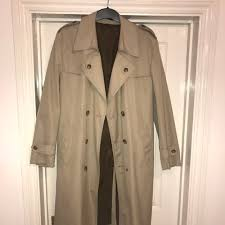 St Michael Trench Coat 🧥 40 inch Chest. One button... - Depop