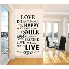 Amazon Vinyl Wall Decals Quotes Inspirational Love Quotes Wall Classy Wall Sticker Quotes