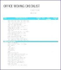 Move Checklist Template Moving Checklist Template