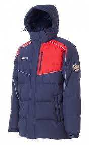 M08151G-NR172 <b>Куртка пуховая мужская</b> (синий/красный ...