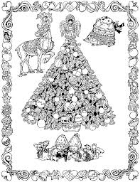 47 Coloring Page Christmas Tree Free Coloring Pages Christmas Tree