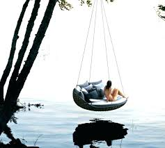 outdoor floating bed top ideas for beds that offer pleasure hanging round 3 han outdoor floating beds