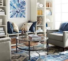 tanner round coffee table pottery barn