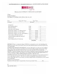 Graphic Design Freelance Contract Template With Artist Invoice