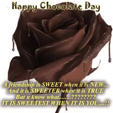 chocolate day quotes for friends. Chocolate Day Friendsquotesgreetingswishes For Quotes Friends