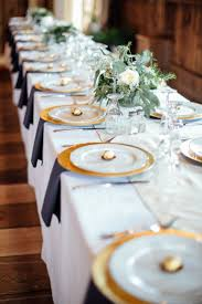 Blue And Gold Table Setting 17 Best Ideas About Gold Chargers Wedding On Pinterest Twigs
