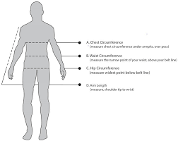 Arm Length Size Chart 7mesh Clothing Size Chart
