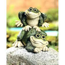 outdoor frog decor garden frog interesting outdoor frogs meditating statue brings peace and decor garden frog