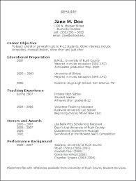 Musicians Cv Template Resume Best Musician Music Curriculum Interesting Musician Resume