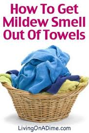 how to get musty mildew smell out of towels here for the easy trick to get them clean today