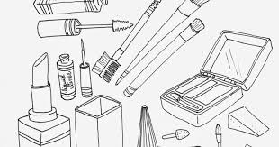 Search Results For Makeup Coloring Pages On Getcoloringscom Free