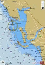 Estero Bay Lemon Bay Incl Charlotte Harbor Marine Chart