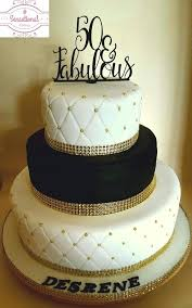 Happy 50th Birthday Cake Male Fabulous Couture By Flowered Cakes
