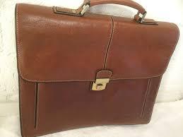 arthur aston saddle leather briefcase