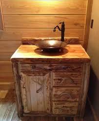 85 Creative Extraordinary Bathroom Vanity Cabinets Rustic Style