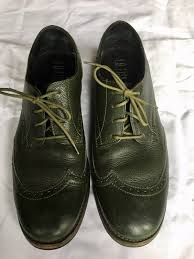 j d fisk green leather wingtips oxford dress size 8 mens shoes nojzys2125 dress shoes