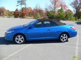2007 Toyota Solara SLE V6 Convertible in Blue Streak Metallic ...
