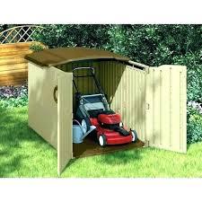 lawn mower garage storage riding outdoor push diy l