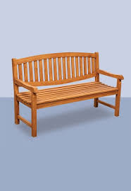coventry teak park bench