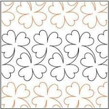 Trinity - Paper -7  - Quilts Complete - Continuous Line Quilting ... & Clover Paper Pantograph 10