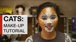 cats make up tutorial how to look like jennyanydots from the al cats