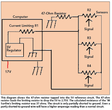 5v reference circuit short to ground repair problem motor magazine to test the amperage on a 5v reference circuit these simple procedures will give you the best results