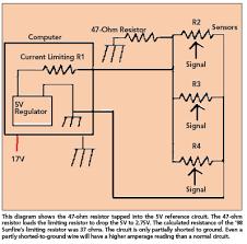 5v reference circuit short to ground repair problem motor magazine 5v5 5v5