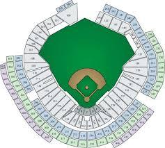 Detailed Nationals Park Seating Chart Washington Nationals Stadium Seating