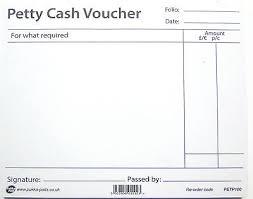 Petty Cash Slip Petty Cash Voucher Book Pad Pre Printed Petty Cash Vouchers 100