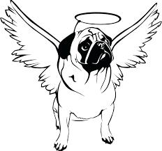 pug coloring pages printable printable pug coloring page free pdf