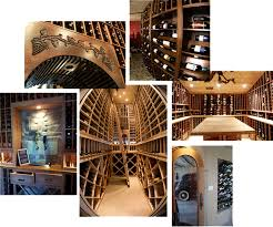 custom wine cellar design trends barrel wine cellar designs