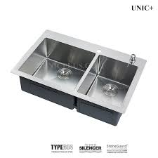 33 inch small radius stainless steel top mount kitchen sink ktr3321d in vancouver