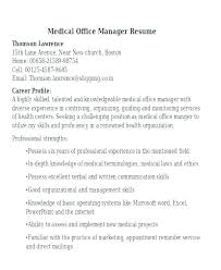 office manager sample job description job description of medical office assistant med assistant info