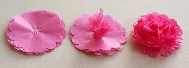tissue paper flower centerpiece ideas tissue paper flowers tips