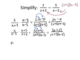 adding subtracting rational expressions like example adding and subtracting rational expressions youtube