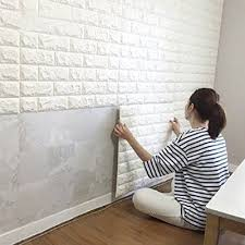Wall Design Ideas Create An Elegant Statement With A White Brick Wall