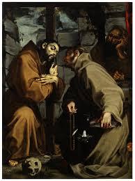 Andrea Lilio o Lilli, San Francesco d'Assisi, sant'Antonio da Padova e San Bonaventura  da Bagnoregio
