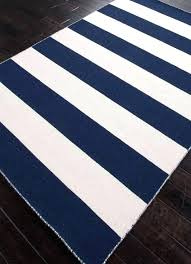 new blue white outdoor rug and area rugs navy striped