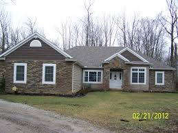 Stone Front Log Look Vinyl Siding Cedar Shake In The Peaks - Exterior vinyl siding