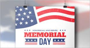 Memorial Day Templates Free Premium Designs Creative