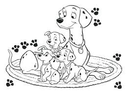 coloring page practical dalmatians colouring 101 pages printable coloring page practical dalmatians colouring 101 pages printable