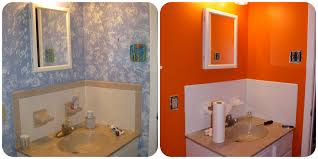 Painting In Bathroom Painting Bathroom Tile And Painted Bathroom Tile Before And After