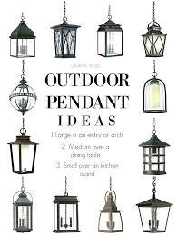 large outdoor pendant lighting. Outdoor Hanging Pendant Lights Rustic Light Hang Fixtures Large . Lighting U