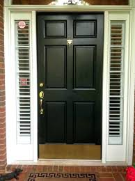 elegant front door sidelight blind installing an entry with for shutter wood white replacement curtain glass