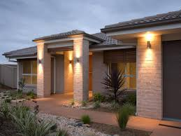 image of landscape and front porch light fixtures design