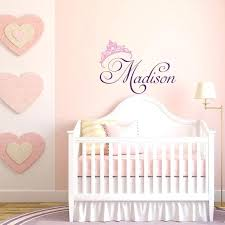 wall names for nursery girls name wall decal princess wall decal personalized name wall decals for