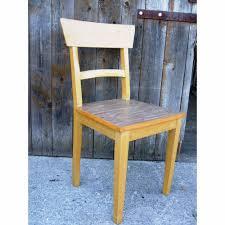 Küchenstuhl Vintage Holzstuhl 50ties Handarbeit Esszimmer