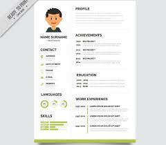 Cover Letter Resumecv Template Free Download By Arahimdesign On