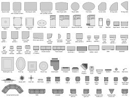 Design Elements U2014 Basic Furniture  EPin U2013 Free Graphic Clipart Furniture Clipart For Floor Plans
